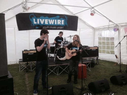 Livewire at Saltash May Fair 2nd May