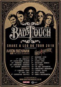 Bad Touch tour dates 2018
